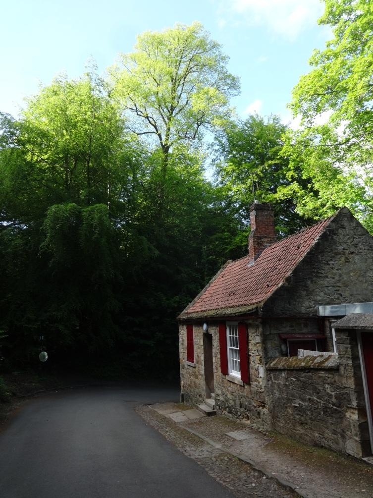 Prebends Cottage on a Summer's Afternoon, Durham
