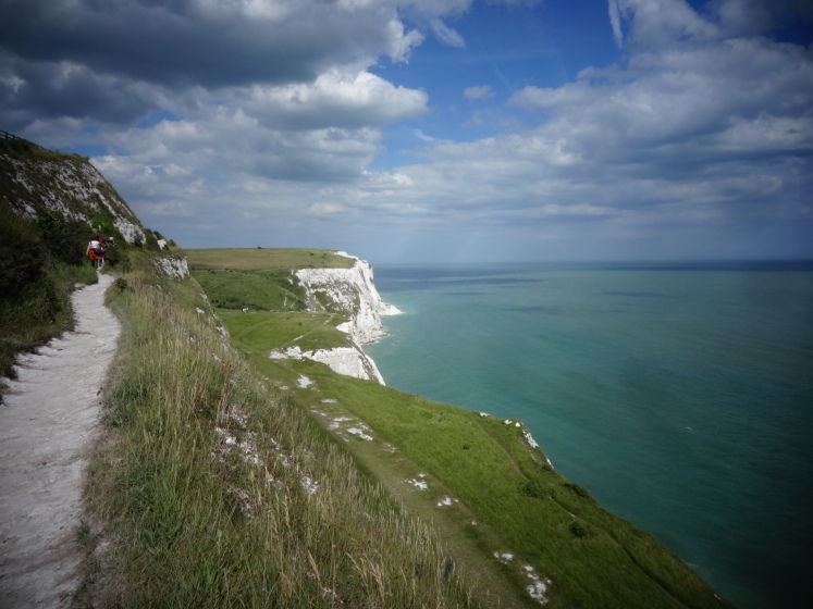 Blue Skies over the White Cliffs of Dover