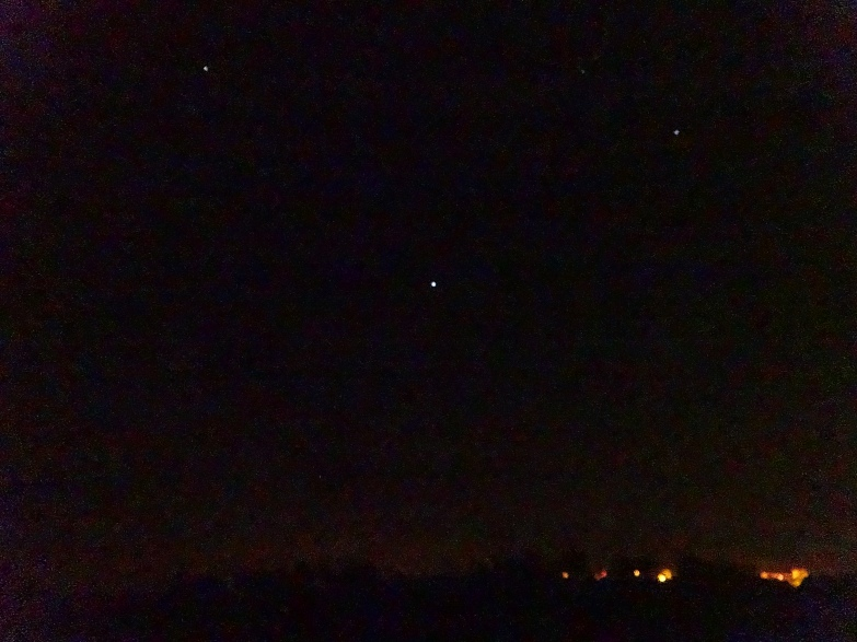 Oh, to own a camera good enough to capture all the night skies I've seen!